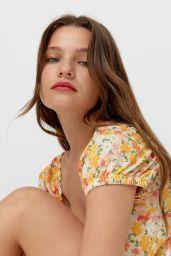 Olga Obumova - Stradivarius Clothing 2021