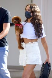 Olivia Culpo - Shopping in Beverly Hills 04/08/2021