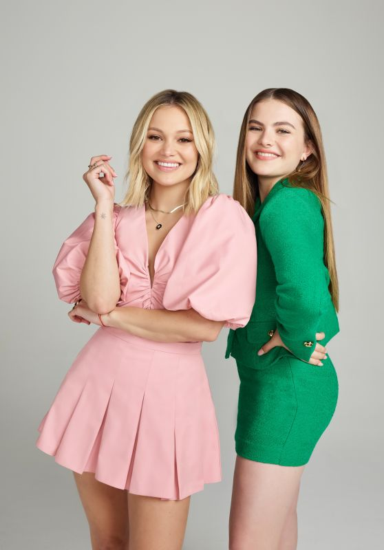 Olivia Holt and Chiara Aurelia - April 2021 Photoshoot