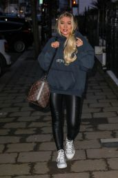 Paige Turley - Out in London 04/15/2021