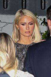 Paris Hilton and Maria Bakalova - Oscar Party at Sunset Tower Hotel in Los Angeles 04/25/2021