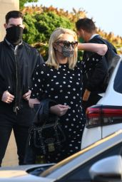 Paris Hilton at Nobu in Malibu 04/05/2021