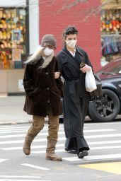 Patti Smith and Jesse Smith - Soho in New York 04/04/2021
