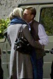 Paulina Porizkova and Aaron Sorkin Out in Los Angeles 04/27/2021
