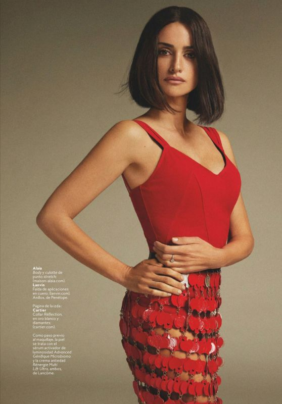 Penélope Cruz - InStyle Spain May 2021 Issue