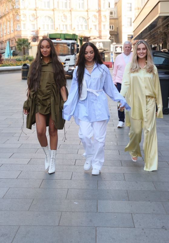Perrie Edwards, Leigh-Anne Pinnock and Jade Thirlwall - Capital Radio in London 04/29/2021