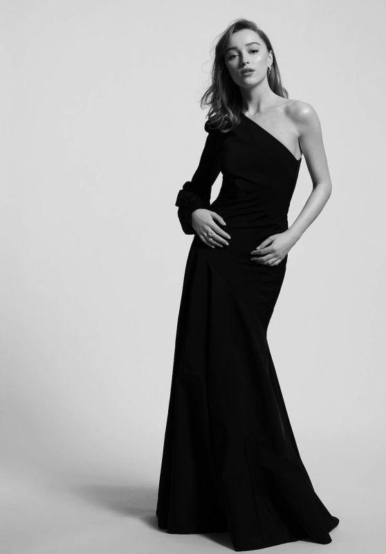 Phoebe Dynevor – 2021 BAFTA Awards Photoshoot (more photos)