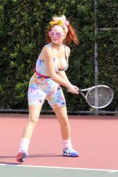 Phoebe Price at the Courts in LA 04/28/2021