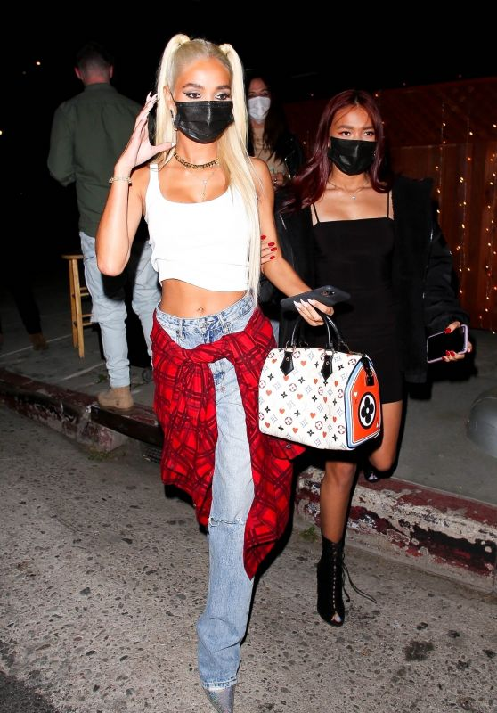 Pia Mia Night Out at the Nice Guy in West Hollywood 04/08/2021