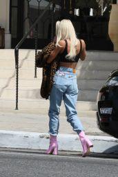 Pia Mia Street Style - Los Angeles 04/12/2021