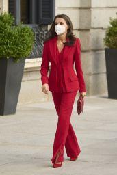 Queen Letizia at Congress of Deputies in Madrid 04/12/2021