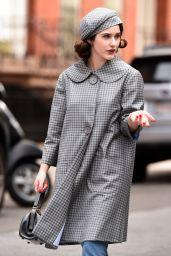 """Rachel Brosnahan - """"Marvelous Mrs. Maise"""" Set in New York 04/27/2021"""
