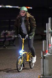 Rebel Wilson Rides a Bike 04/29/2021