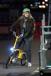 Rebel Wilson Rides a Bike 04/29/2021
