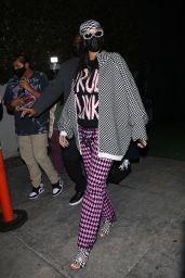 Rihanna at Nobu in Malibu 04/23/2021