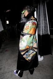 Rihanna at Wally
