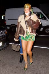 Rihanna Night Out Style - The Nice Guy in Los Angeles 04/10/2021