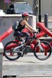 Rita Ora - Bike Ride in Sydney 04/14/2021