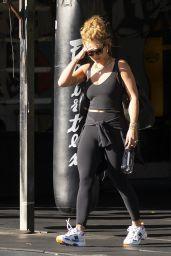 Rita Ora - Leaving the Gym in Sydney 04/12/2021