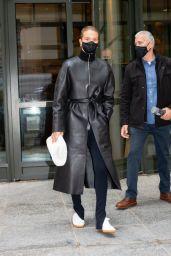 Rosie Huntington-Whiteley Wearing All-Black in New York 04/15/2021