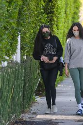 Rumer Willis and Demi Moore - Out in Los Angeles 04/05/2021