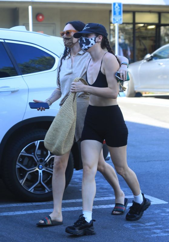 Rumer Willis and Scout Willis - Out in West Hollywood 04/19/2021