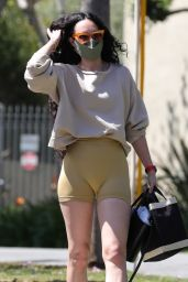 Rumer Willis - Heads to a Gym in West Hollywood 04/07/2021