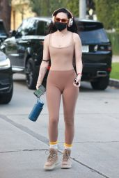 Rumer Willis in Workout Outfit 04/15/2021