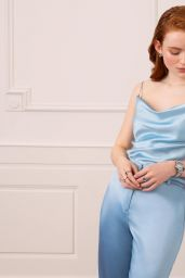 Sadie Sink - Chopard Happy Diamonds 2021 Campaign