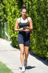 Sara Sampaio in Workout Outfit 04/02/2021