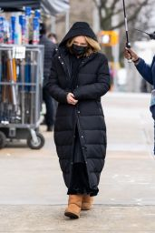 """Selena Gomez and Amy Ryan - """"Only Murders in the Building"""" Set in New York 04/12/2021"""