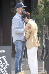 Selma Blair on Melrose Place in West Hollywood 04/14/2021