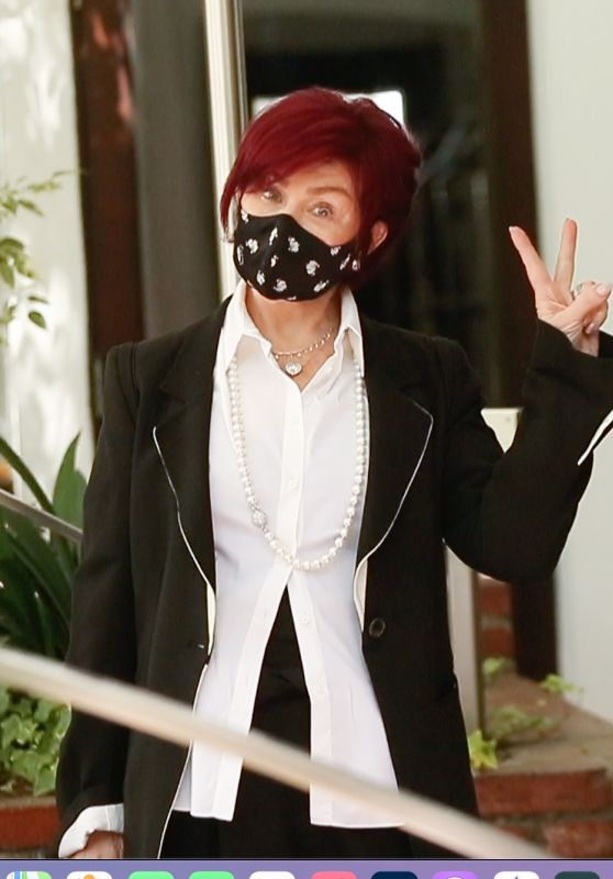 Sharon Osbourne - Out in Los Angeles 03/30/2021
