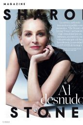 Sharon Stone - ELLE Spain May 2021 Issue