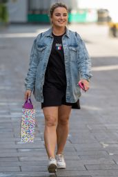 Sian Welby - Out in London 04/22/2021