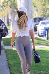 Sofia Richie at a Pilates Class in LA 04/09/2021