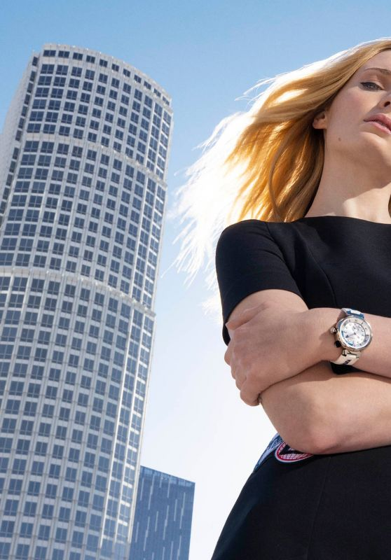 Sophie Turner - Photoshoot for LV Tambour Street Diver 2021 Campaign