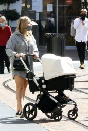 Stassi Schroeder at The Grove in Los Angeles 04/08/2021