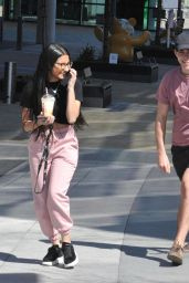 Tanisha Gorey in Comfy Outfit - Salford 04/24/2021
