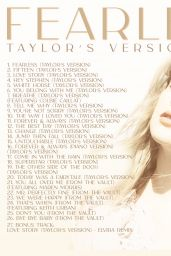 Taylor Swift - Fearless Cover and Promo 2021