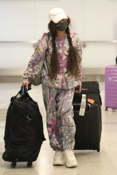 Vanessa Hudgens at LAX Airport in LA 03/31/2021