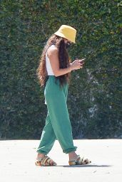 Vanessa Hudgens in Casual Outfit in Los Angeles 04/02/2021