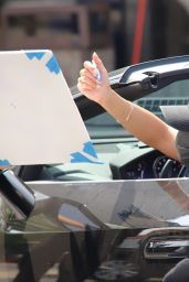 Vanessa Hudgens - Leaving a Workout at Dog Pound in West Hollywood 04/06/2021