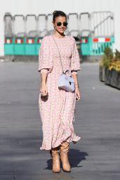 Vogue Williams in Summer Dress 04/11/2021
