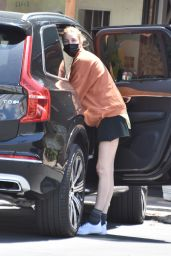 Whitney Port in Workout Clothes - Studio City 04/27/2021