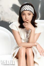 Xin Zhilei - Photographed for Grazia Magazine China April 2021