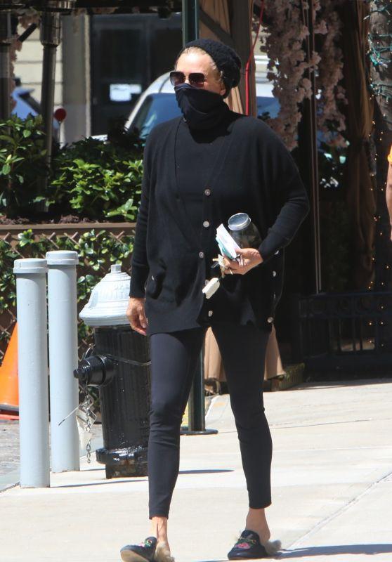 Yolanda Hadid - Outside of Gigi