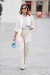 Zoe Hardman in Summer Whites - London 04/04/2021