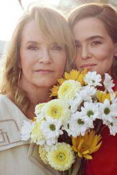 Zoey Deutch and Lea Thompson - InStyle Magazine April 2021
