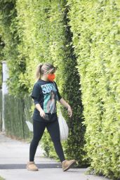 Addison Rae - Heads to Pilates Session in West Hollywood 05/09/2021
